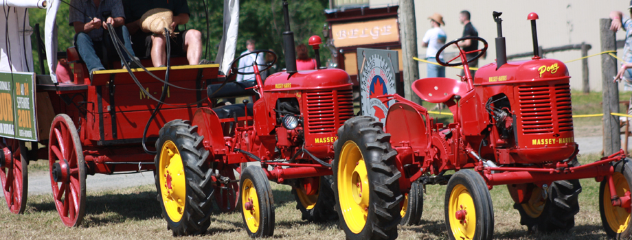 Come watch the farm stock and antiques tractor pulls!